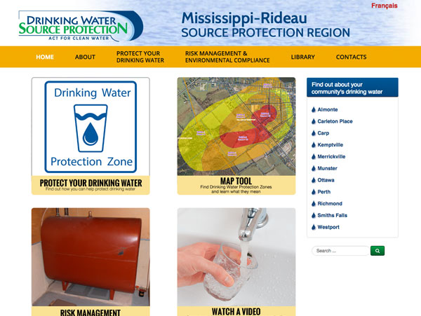 Mississippi-Rideau Source Protection Region